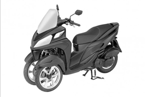 Yamaha Tricity 125 For Police - image 1_midi on http://moto.motori.net